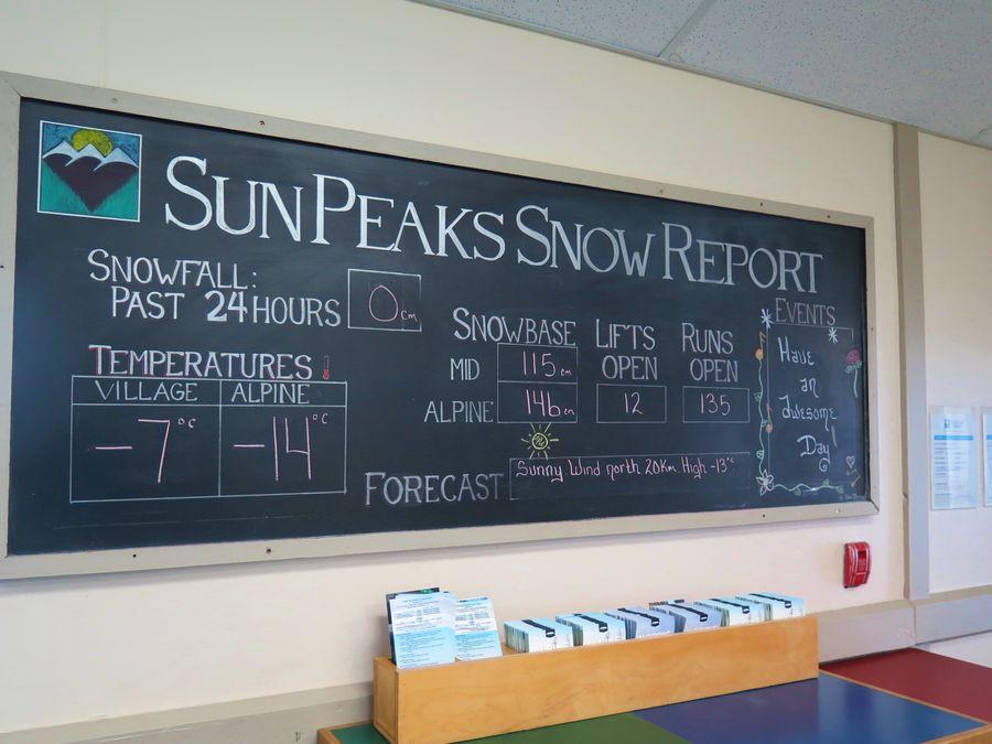 Sun peaks - Raine des neige ...